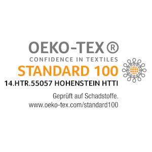Oeko-Tex Certificated